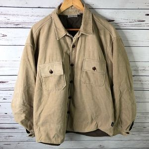 BILLABONG Corduroy Jacket Mens XL Quilt Lining